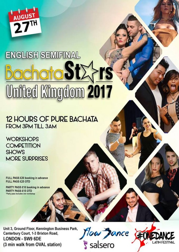 BachataStars All Day Event & Party