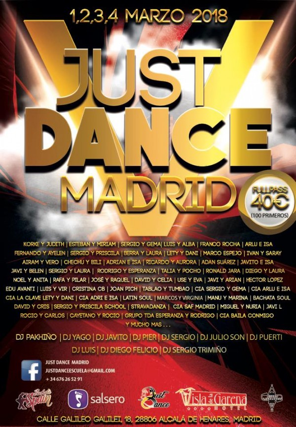 V JUST DANCE MADRID