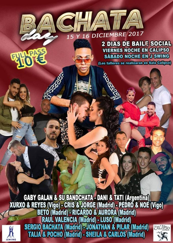 2º BACHATA DAY  SALA CALIPSO