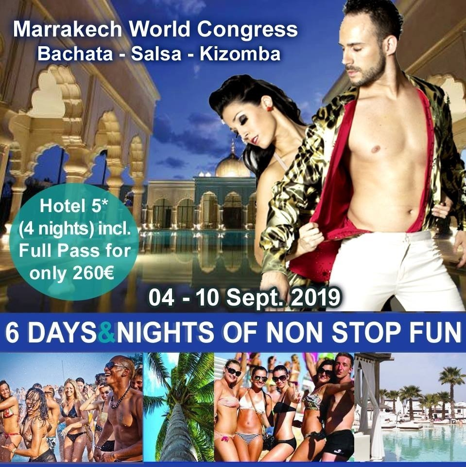 World Salsa Congress Marrakech 2019