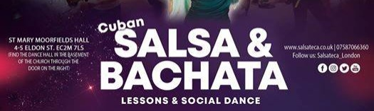Every Monday, Cuban Salsa & Bachata