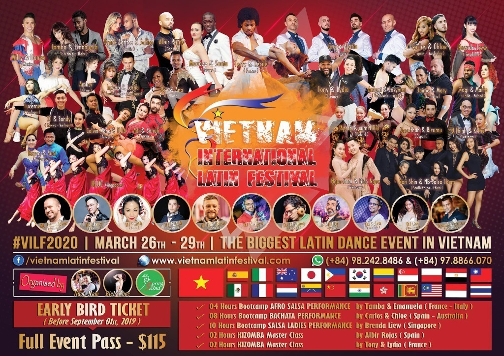 5th Vietnam International Latin Festival