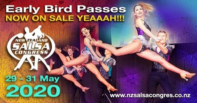 NZ Salsa Congress 2020 Event